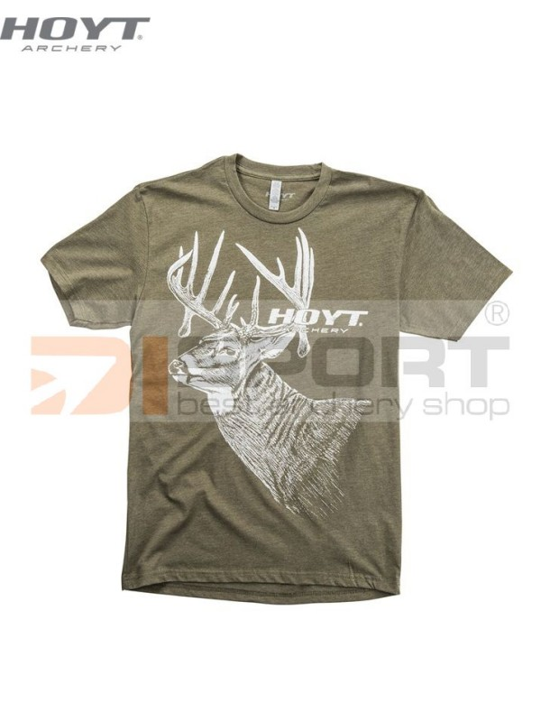 HOYT SPECIAL DRAW WHITETAIL  man  t-shirt