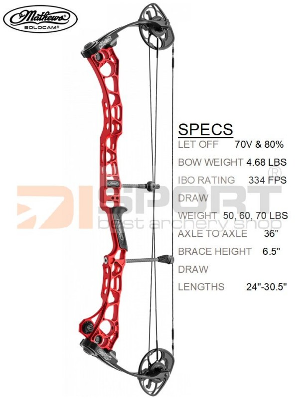 MATHEWS compound bow TRX 36