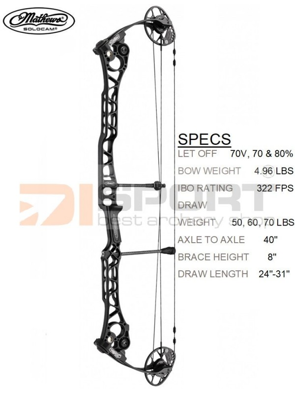 MATHEWS compound bow TRX 8 - 2019