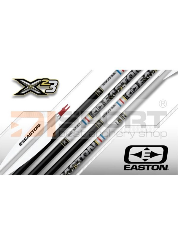 cevke EASTON X23 Silver Two tone anodized