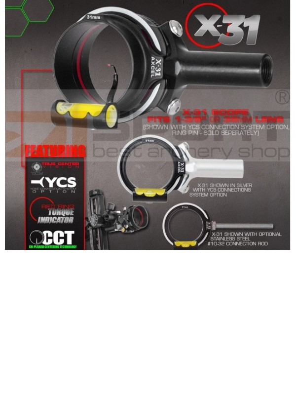 AXCEL SCOPE DOC´S CHOICE X-31   1 3/8¨  Standard rod 10/32