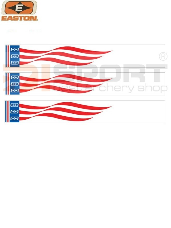 EASTON ARROW WRAPS PATRIOTIC FLAG