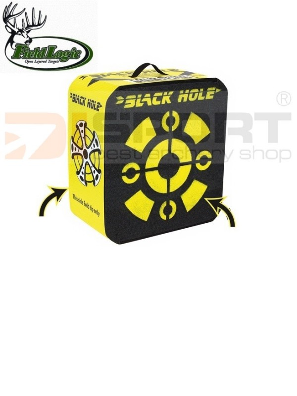 FIELD LOGIC - BLACK HOLE KOCKA  small 18¨ - 18¨ x 16¨x 11¨