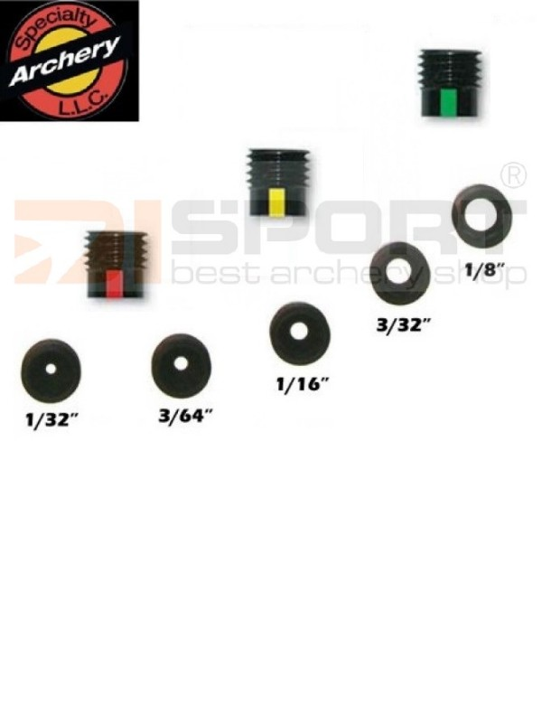 SPEC. ARCH . INSERT ZA PEEP SIGHT Z LEČO #3 RED