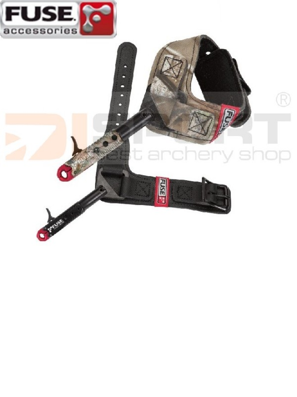 SPROŽILEC FUSE CLINCH DUAL CALIPER BLACK
