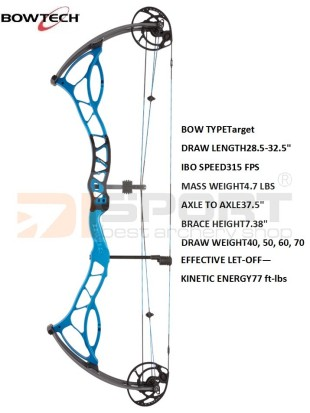 compound bow BOWTECH Fanatic 2.0  XL