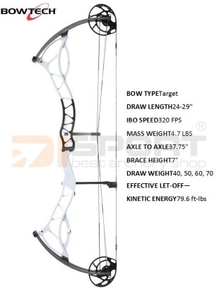 compound bow BOWTECH Fanatic 3.0  SD