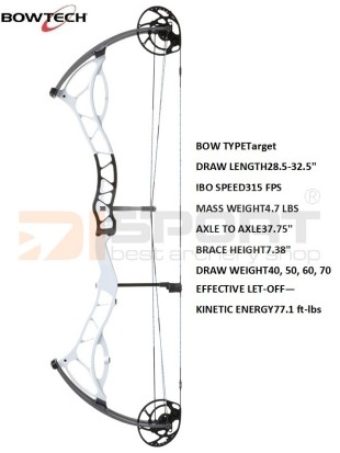 compound bow BOWTECH Fanatic 3.0  XL