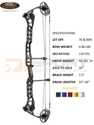 MATHEWS compound bow TRX 38