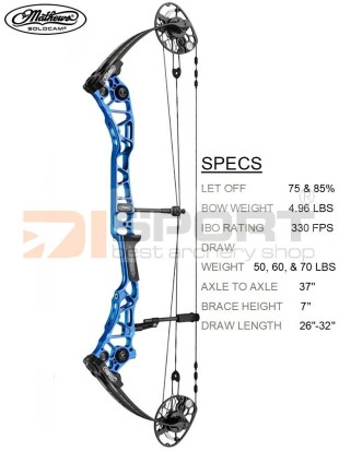 MATHEWS compound bow HALON X COMP