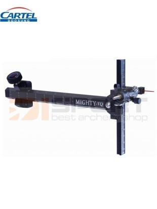 CARTEL merilna za recurve MIGHTY CARBON