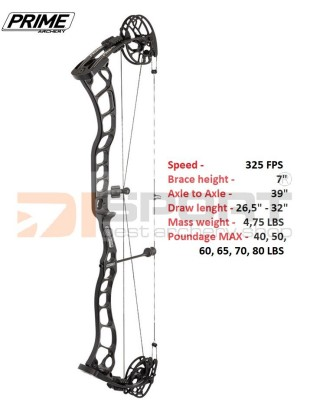 PRIME compound bow LOGIC CT9 - 39