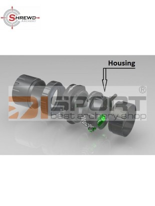 SHREWD HOUSING ZA SCOPE OPTUM BLACK