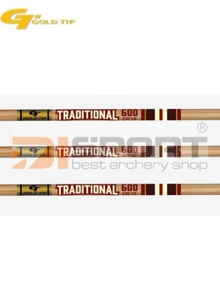 cevke GOLD TIP TRADITIONAL CLASSIC XT wood grain .003