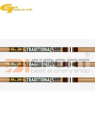 cevke GOLD TIP TRADITIONAL CLASSIC wood grain .006