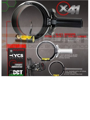 AXCEL SCOPE DOC´S CHOICE X-41   1 3/4¨  Yoke system