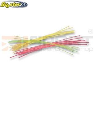 BOOSTER FIBRE ZA MEREK  3/1  GREEN-RED-YELLOW