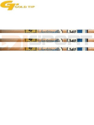 cevke GOLD TIP TRADITIONAL XT wood grain .003
