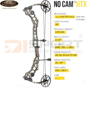 MATHEWS compound bow NO-CAM HTX