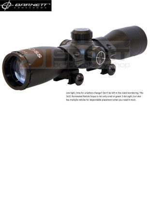 DALJNOGLED ZA SAMOSTREL BARNETT 3x32 MULTI-RETICLE ILLUMINATED