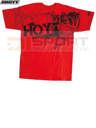 HOYT HIT-MAN RED T-SHIRT