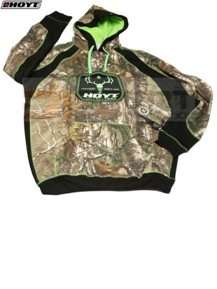 HOYT OUTFITTER HOODY s kapuco CAMO-GREEN