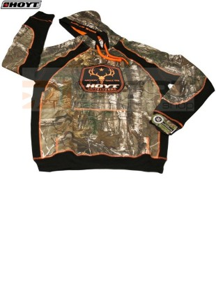 HOYT OUTFITTER HOODY s kapuco CAMO-ORANGE