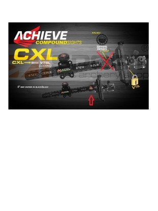 AXCEL MERILNA ZA COMPOUND ACHIEVE CXL BREZ DAMPERJA - with lock