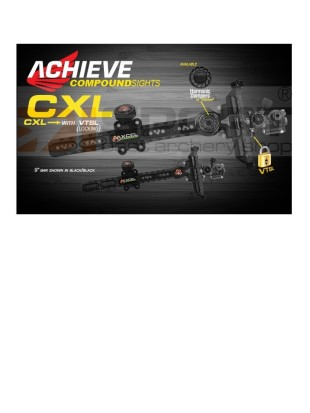 AXCEL MERILNA ZA COMPOUND ACHIEVE CXL Z DAMPERJEM - with lock