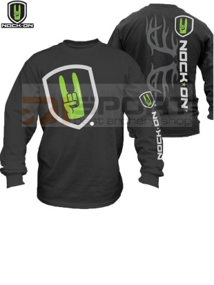 NOCK ON RACK LONG SLEEVE TEE