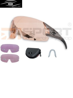 SHOOT-OFF shooting glasses SET INDOOR - 3 lenses