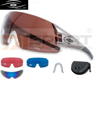 SHOOT-OFF shooting glasses SET OUTDOOR 3 - 4 lenses