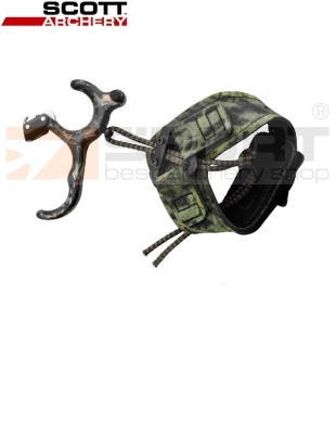 SPROŽILEC SCOTT LONG HORN HUNTER 3 FINGER CAMO