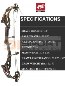 COMPOUND BOW-COMPETITION BOWS