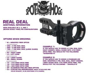 SPOT HOGG REAL DEAL WRAPPED MICRO 3 PIN 0,19
